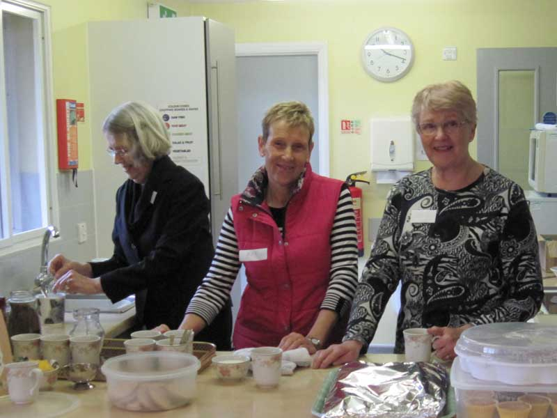 Volunteer at cameo Cafe North Walsham